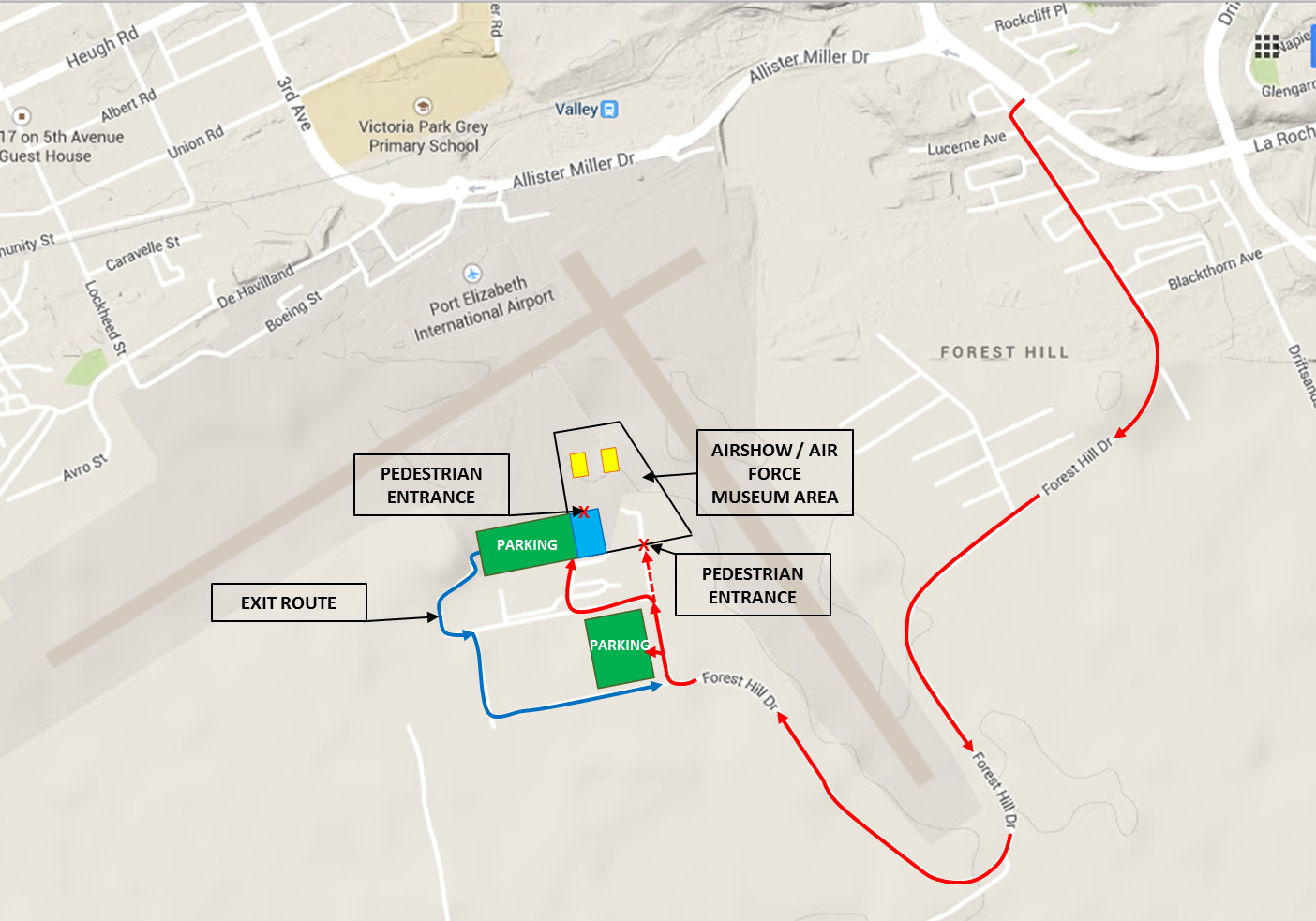 Airshow Map